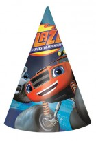 Blaze and the Monster Machines Cone Shaped Hats Pack of 8_thumb.jpg