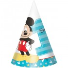 Mickey Mouse Fun to Be One 1st Birthday Cardboard Cone Hats_thumb.jpg
