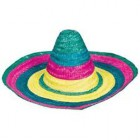 Fiesta Sombrero Multi Coloured Adult Hat 50cm_thumb.jpg