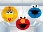 Sesame Street Honeycomb Hanging Decorations Pack of 3_thumb.jpg