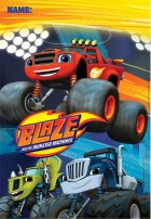 Blaze and the Monster Machines Plastic Loot Bags Pack of 8_thumb.jpg