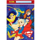 DC Superhero Girls Plastic Loot Bags Pack of 8_thumb.jpg
