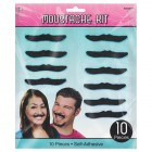 Classic 50's Moustaches Pack of 10_thumb.jpg