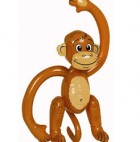 Inflatable Plastic Monkey 50cm_thumb.jpg