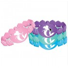 The Little Mermaid Ariel Rubber Bracelets Pack of 6_thumb.jpg