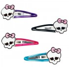 Monster High Plastic Hair Clips With Skulls Pack of 4_thumb.jpg