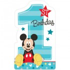 Mickey Mouse Fun to Be One 1st Birthday Invitations & Envelopes Pack of 8_thumb.jpg
