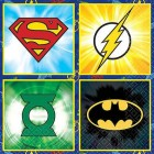 Justice League 2 Ply Beverage Napkins Pack of 16_thumb.jpg