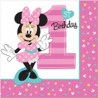 Minnie Mouse Fun to Be One 1st Birthday 2 Ply Lunch Napkins Pack of 16_thumb.jpg