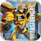 Transformers Square Paper Luncheon Plates 18cm Pack of 8_thumb.jpg