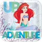 The Little Mermaid Ariel Square Paper Luncheon Plates 18cm Pack of 8_thumb.jpg