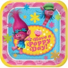 Trolls Have a Poppy Day Square Paper Luncheon Plates Pack of 8_thumb.jpg
