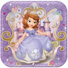 Sofia the First Square Paper Dinner Plates 23cm Pack of 8_thumb.jpg