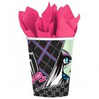 Monster High Paper Cups 266ml Pack of 8_thumb.jpg