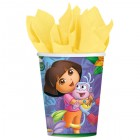 Dora the Explorer Paper Cups 266ml Pack of 8_thumb.jpg
