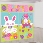 Happy Easter Plastic Scene Setter Wall Decorating Kit_thumb.jpg