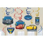 Cars 3 Hanging Swirl Cardboard Decorations Value Pack of 12_thumb.jpg
