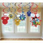 Mickey Mouse Hanging Swirls With Cutouts Pack of 12_thumb.jpg