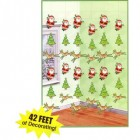 Santa and Reindeer Hanging String Decorations Pack of 6_thumb.jpg