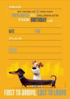 The Secret Life of Pets Birthday Invitations Pack of 8_thumb.jpg