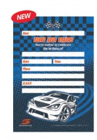 V8 Supercars Start Your Engines Invitations & Envelopes Pack of 8_thumb.jpg