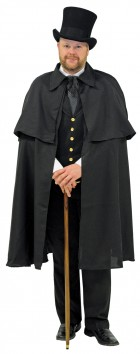 Black Dickens Cape Adult Costume Accessory_thumb.jpg