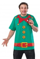 Christmas Elf Adult T-Shirt_thumb.jpg