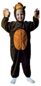 Monkey Plush With Tail Infant / Toddler Costume_thumb.jpg