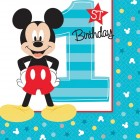 Mickey Mouse 1st Birthday Beverage Napkins Pack of 16_thumb.jpg