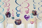 Disney Descendants 2 Foil Hanging Swirls Pack of 12_thumb.jpg