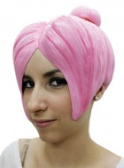 Adult Pink Upswept Latex Anime Wig_thumb.jpg