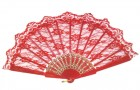 Red Lace Fan Folding Women's Dancing Costume Accessory_thumb.jpg