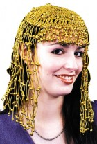 Cleopatra Headpiece Egyptian Costume Accessory Gold_thumb.jpg