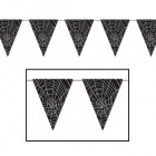 Spider Web All Weather Plastic Pennant Banner_thumb.jpg