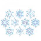 Mini Snowflake Cardboard Double Sided Cutouts Pack of 10_thumb.jpg
