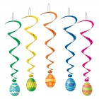 Easter Egg Multi Colored Hanging Whirl Decorations Pack of 5_thumb.jpg