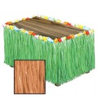Artificial Grass Natural Flowered Table Skirt_thumb.jpg