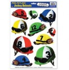 Peel N Place Melbourne Cup Jockey Helmets Stickers Pack of 10_thumb.jpg