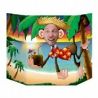 Luau Monkey Cardboard Photo Prop_thumb.jpg