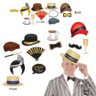 Great 20's Cardboard Photo Props Pack of 12_thumb.jpg