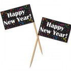 Happy New Year Flag Picks 6cm Pack of 50_thumb.jpg