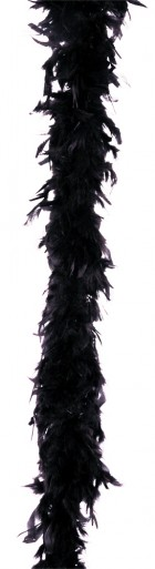 Feather Boa 40 Gram Black_thumb.jpg