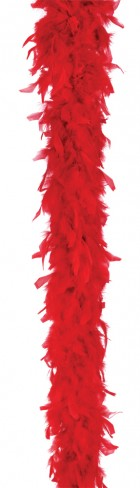 Feather Boa 40 Gram Red_thumb.jpg