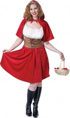 Sexy Little Red Riding Hood Women's Halloween Costume Fancy Dress_thumb.jpg