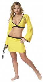 Adult Naughty Ninja Yellow Costume Women's Halloween Fancy Dress_thumb.jpg