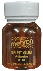 Mehron Spirit Gum 1oz (30ml) Adult Liquid Adhesive for Prosthetics Makeup Costume Accessory_thumb.jpg