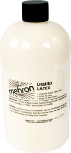 Mehron Liquid Latex Light Skin Beige 16oz Prosthetics Professional Theatrical Makeup Costume Accessory_thumb.jpg