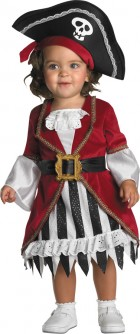 Pirate Princess Toddler Girl's Costume 12-18 Months_thumb.jpg