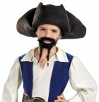 Pirates of the Caribbean Jack Sparrow Boy's Hat Mustache and Goatee Costume Accessory_thumb.jpg