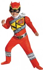 Power Rangers Red Ranger Dino Muscle Toddler / Child Costume_thumb.jpg